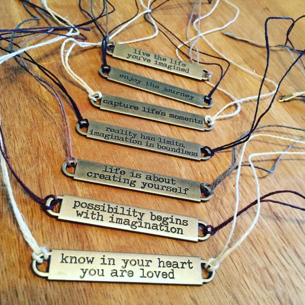 Wisdom Words Necklace